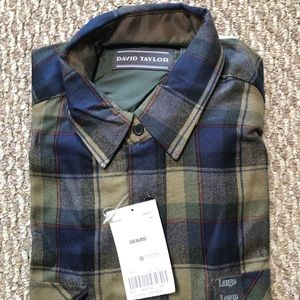 David Taylor Men's shirt size L